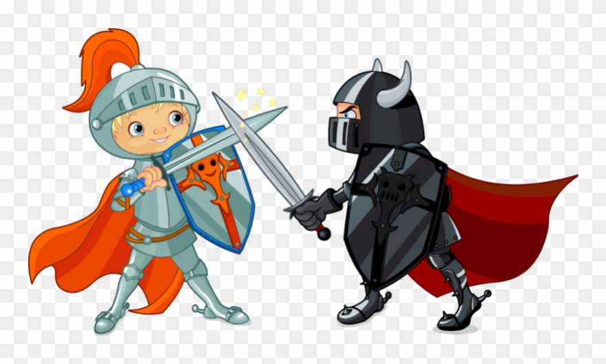 Next knights pinclipart . Fighting clipart fighting