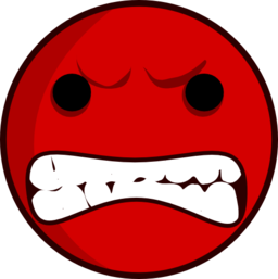 Hate look at clip. Fighting clipart hatred