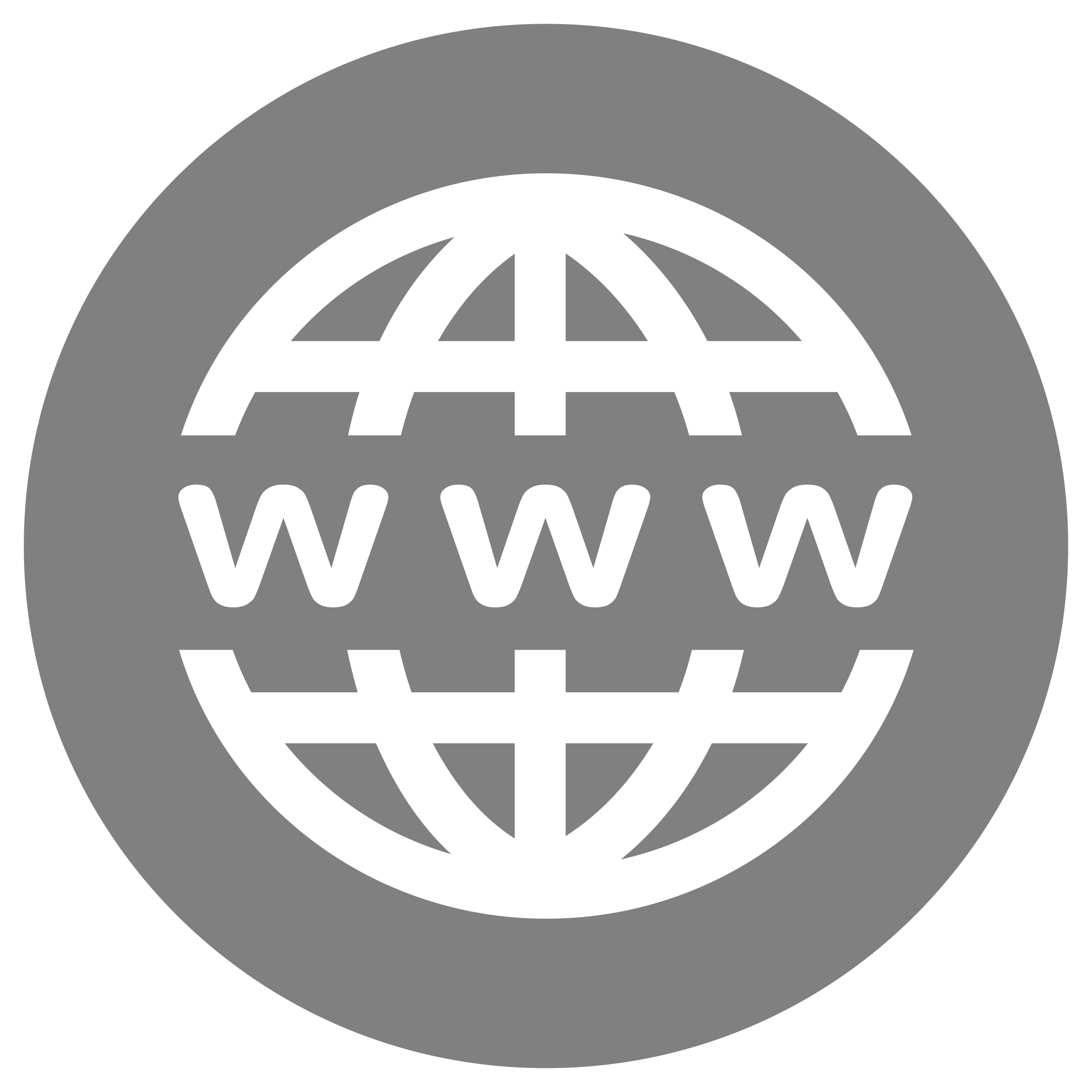 Www big letters stock. Website icon png