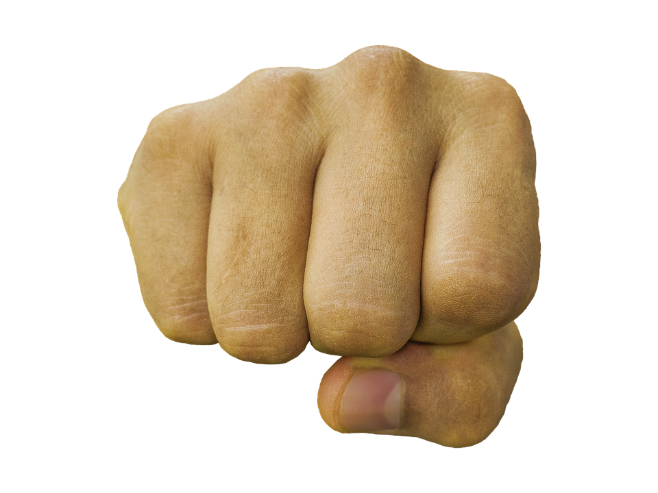Png punching transparent images. Fist clipart strength