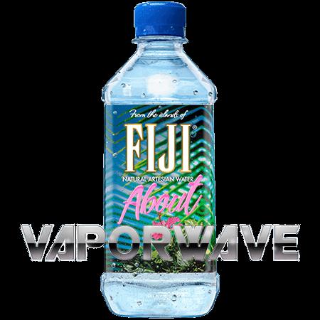 V a p o. Fiji bottle png