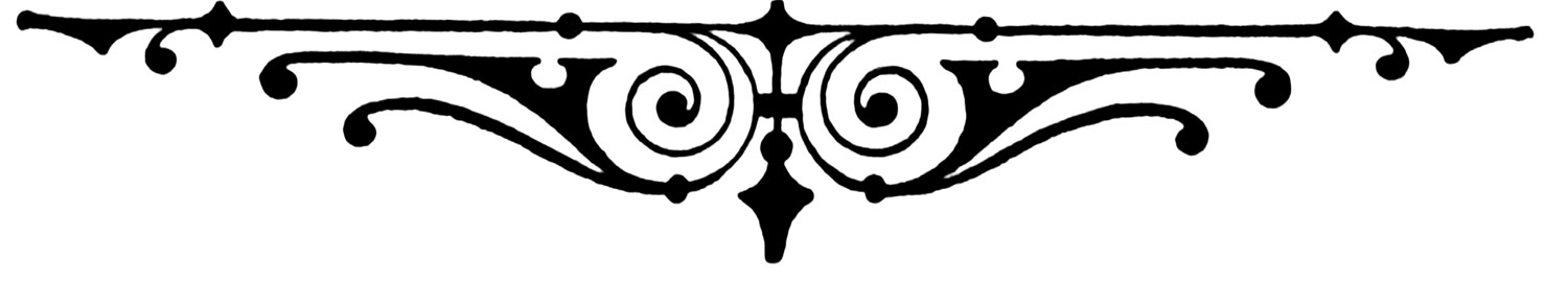 Free divider cliparts download. Filigree clipart