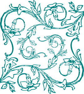 Clip art at clker. Filigree clipart