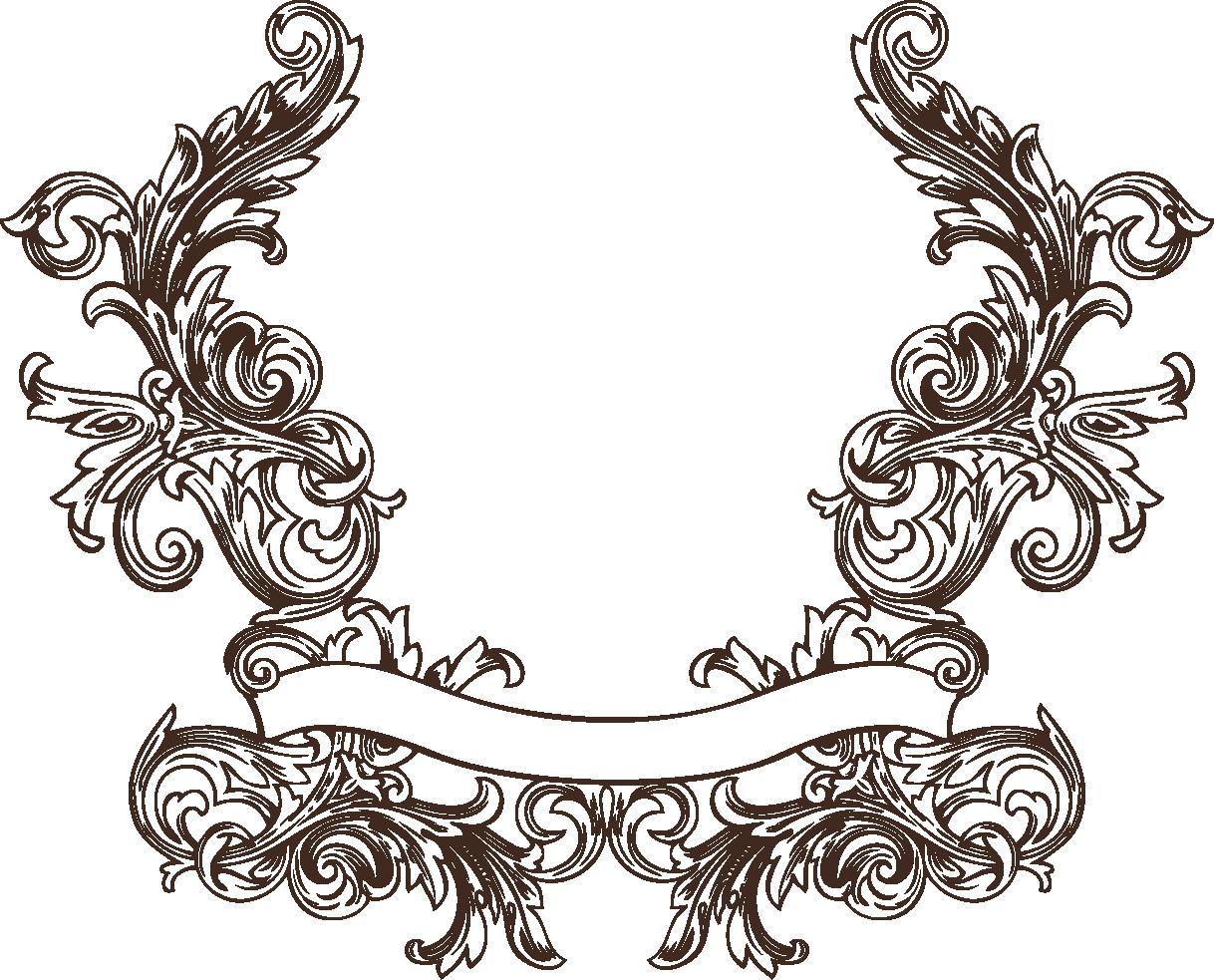 Filigree clipart baroque.  upyourpic org z
