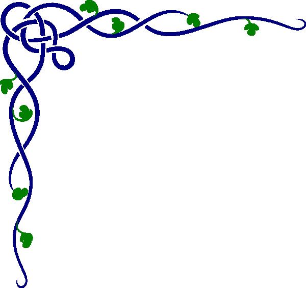 Vines clipart leafy vine. Celtic colored clip art