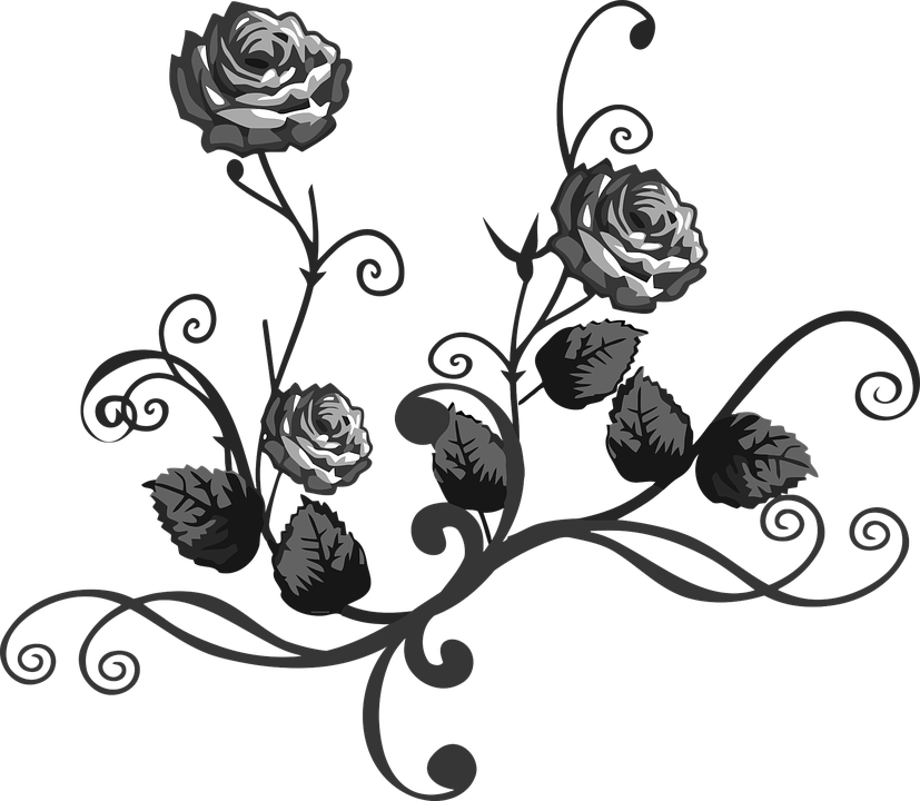 Cliparts shop of library. Filigree clipart damask