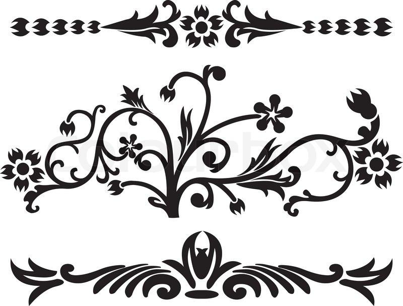Free cliparts download clip. Paisley clipart black filigree
