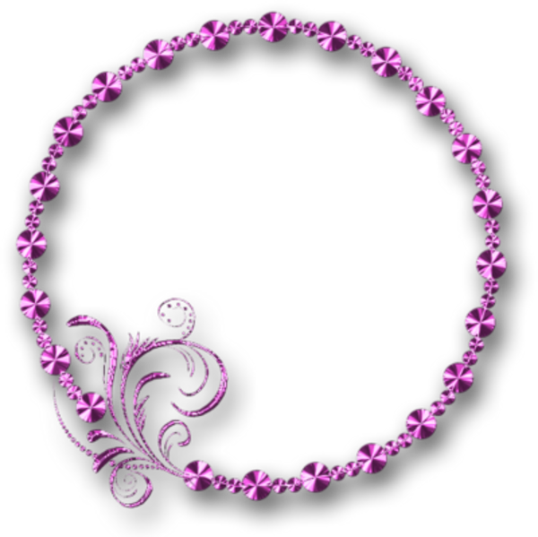 Glossy pink purple no. Filigree clipart filigree frame