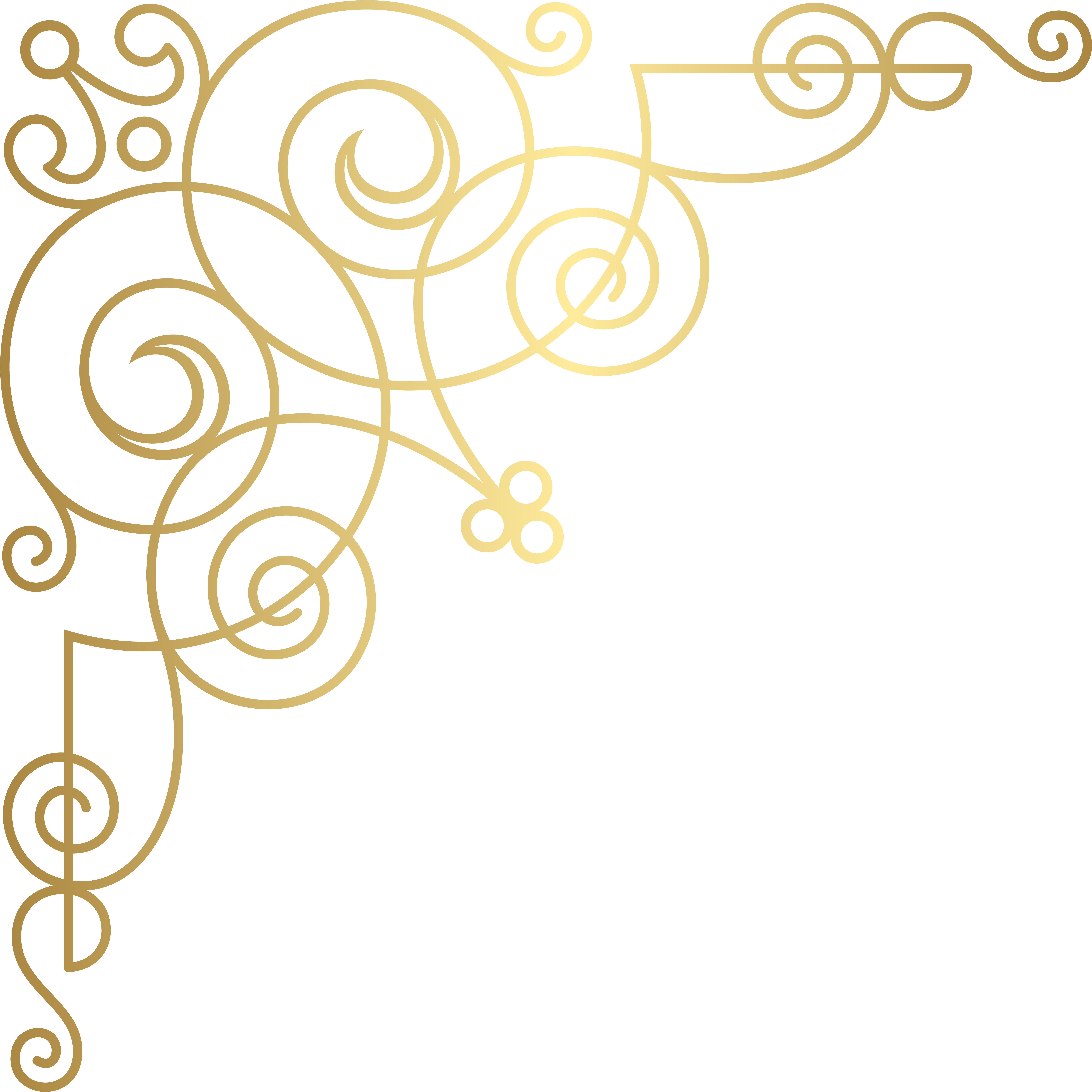 Download png image with. Filigree clipart filigree square