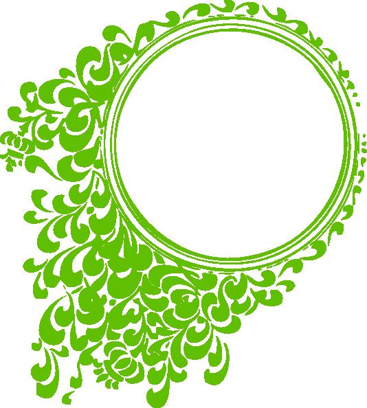 Filigree frame clip art. Kiwi clipart circle