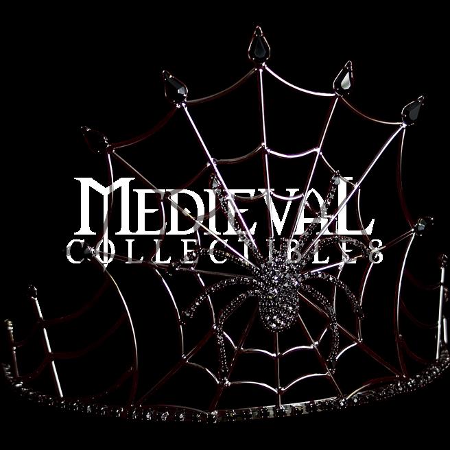 Filigree clipart medieval. Gothic queen spider crown