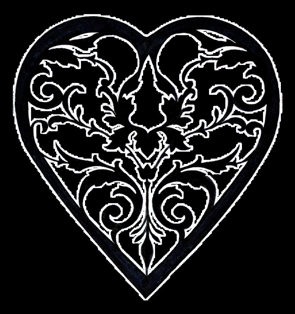 Heart drawing at getdrawings. Filigree clipart royal filigree