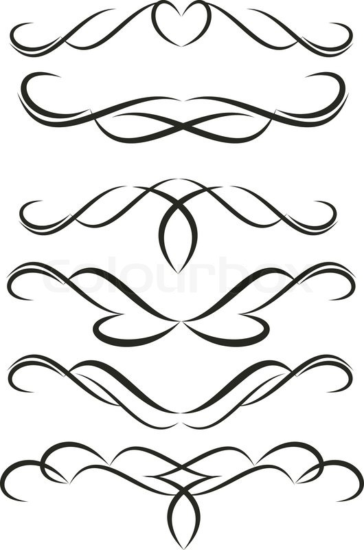 Filigree clipart simple. Border free download best