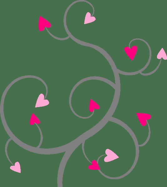 Filigree clipart swirl. Heart swirls gallery by