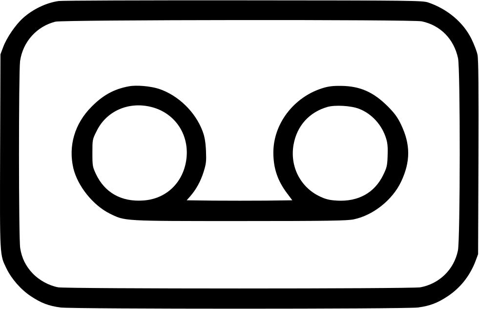 Audio music film movie. Video clipart video cassette