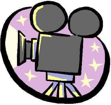 Film clipart camara. Movie camera and mclldg
