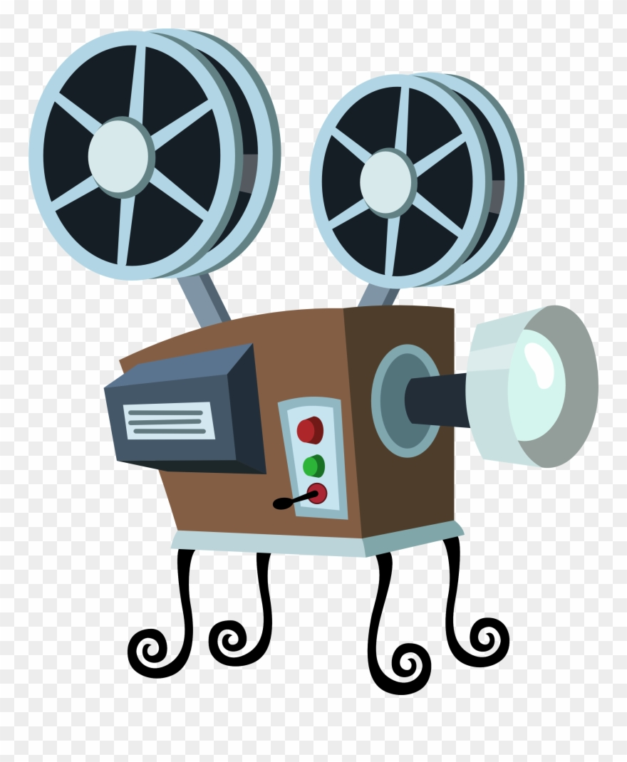 Movie clipart cartoon. See here black and