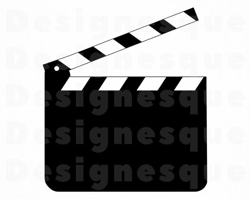 Download for free png. Film clipart clap