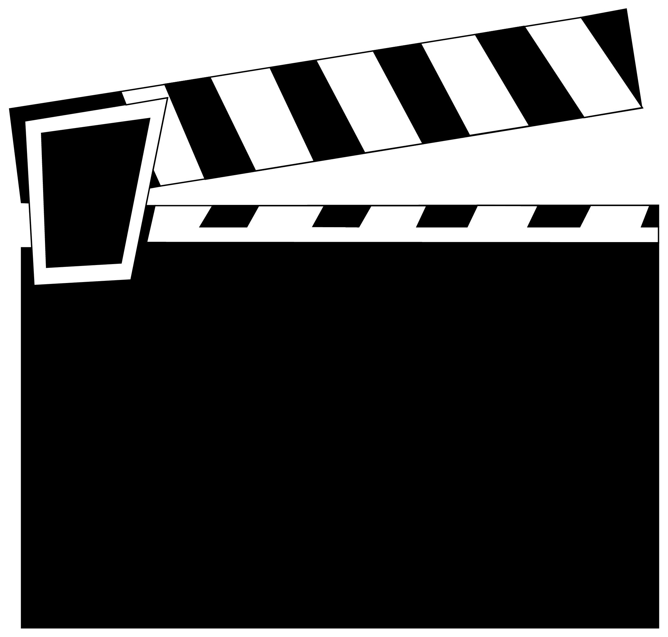 Clapboard cliparts free download. Film clipart clap board