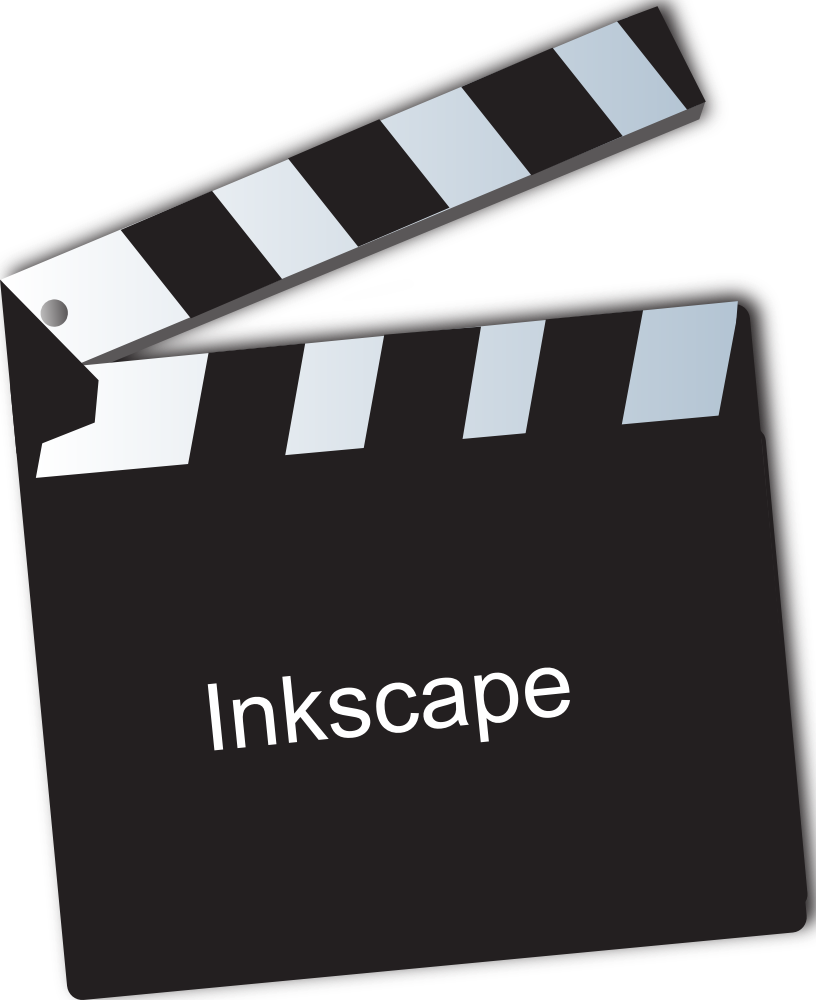 Onlinelabels clip art clapper. Movie clipart marker board