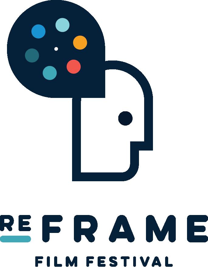 Home reframe logo menu. Movie clipart film festival