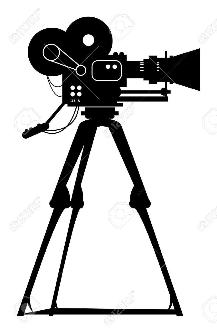 Film clipart film shooting. Movie camera clipartix