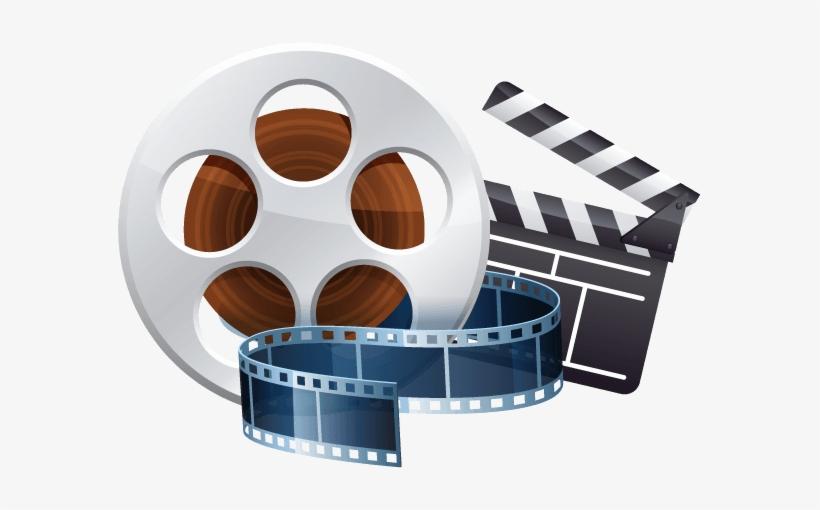 Arts teaching media clip. Film clipart film study