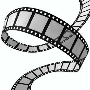 Movie reel logo cliparting. Film clipart filmmaking
