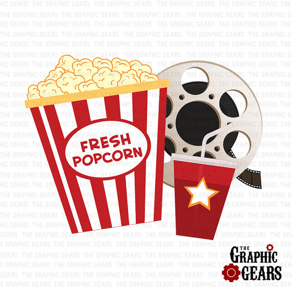 Free snacks cliparts download. Movie clipart movie snack