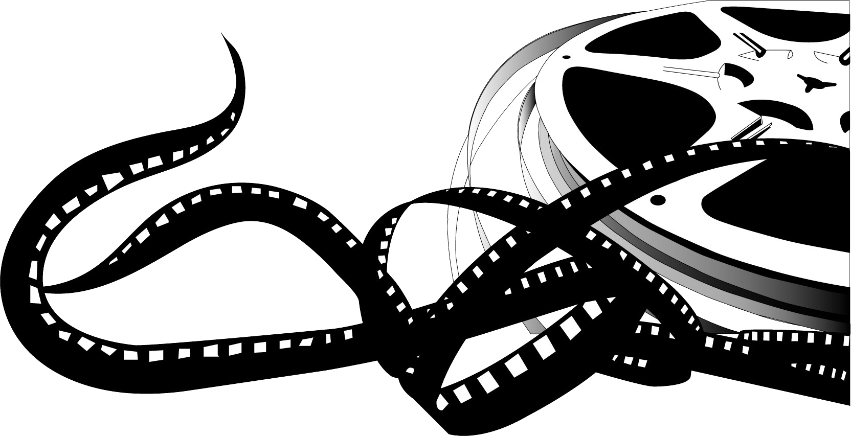 Film clipart movie hollywood. Reel clip art movies