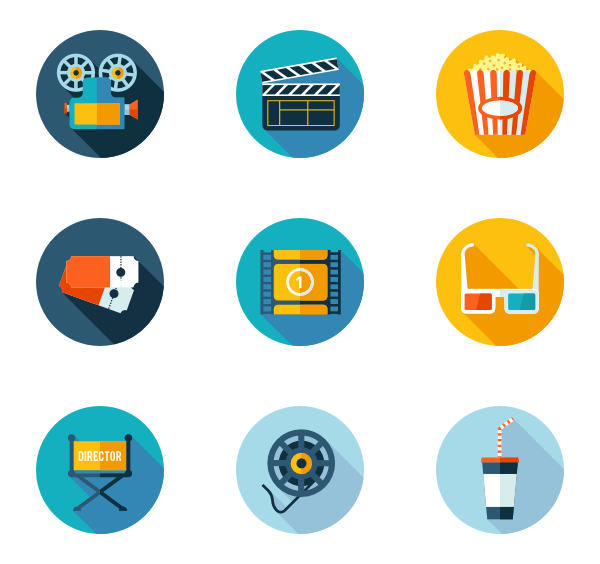 Movie icon png.  packs vector svg