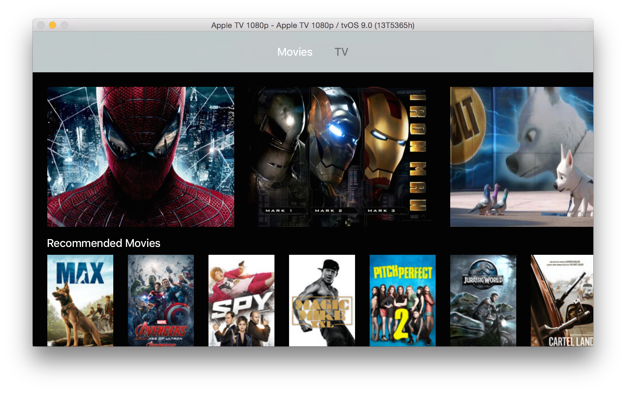 Tvos tutorial make a. Movies clipart movie player