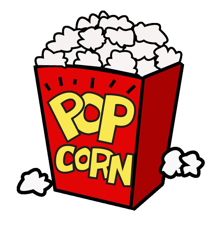 Free clipart popcorn. Movies pop corn films