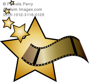 clip art clipartlook. Film clipart movie star