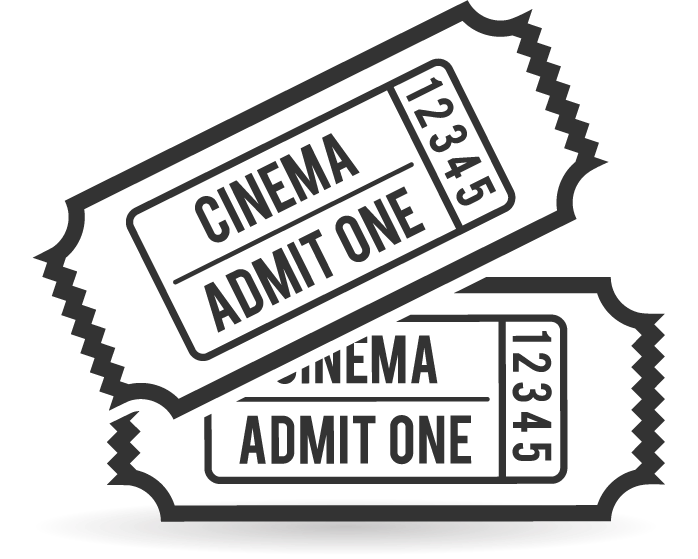 Ticket clipart admit one.  collection of movie
