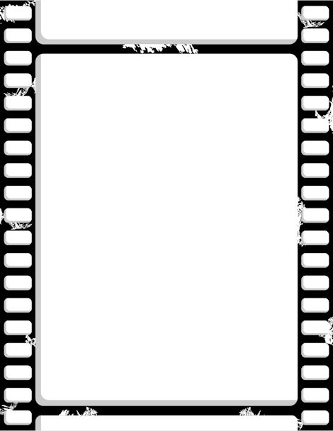 Film clipart pdf. Printable strip border free