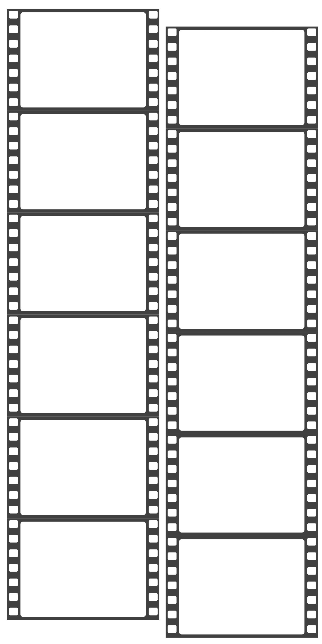 Film clipart photo booth. Photomaton template free photobooth