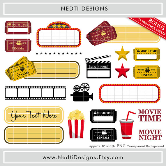 Movies clipart movie time. Free cliparts download clip