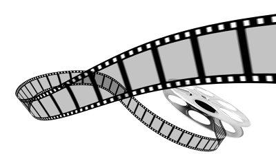 Film clipart rolling film. Free movie reel download