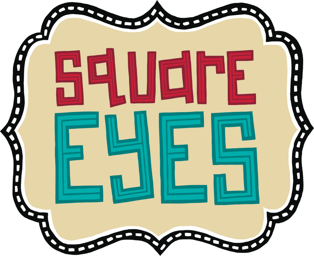 Eyes film foundation. Square clipart square present