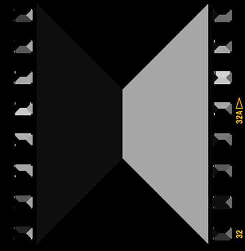 Film clipart square. Black and white frame