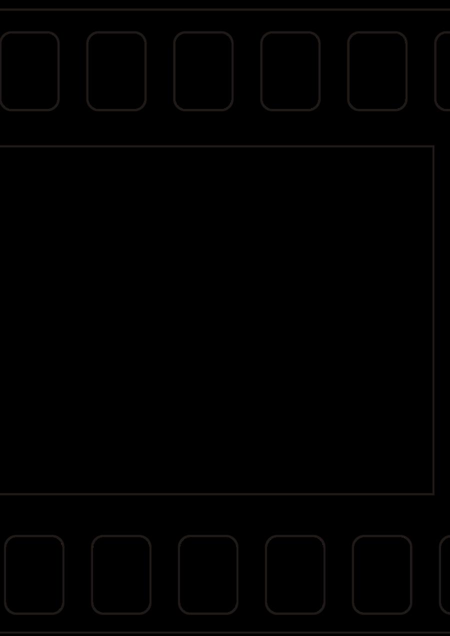 White background rectangle . Film clipart square
