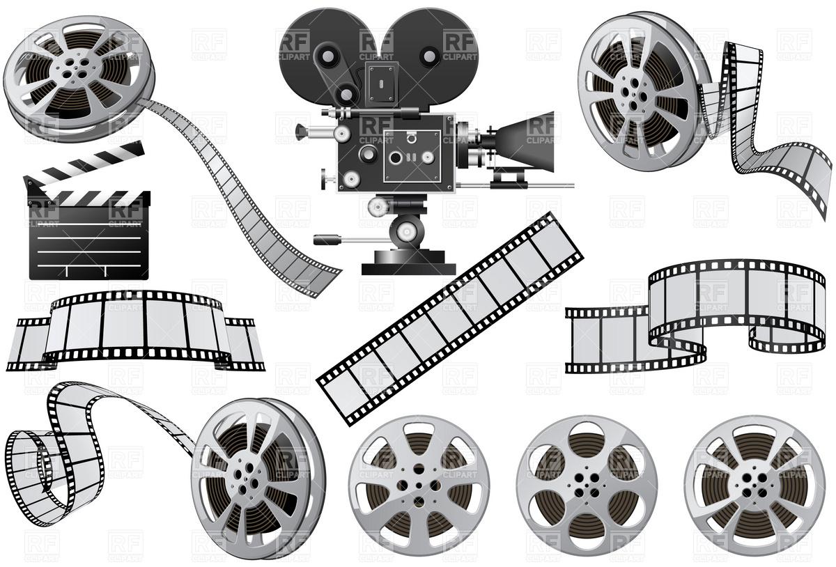 Movie clipartix . Film clipart vintage film camera