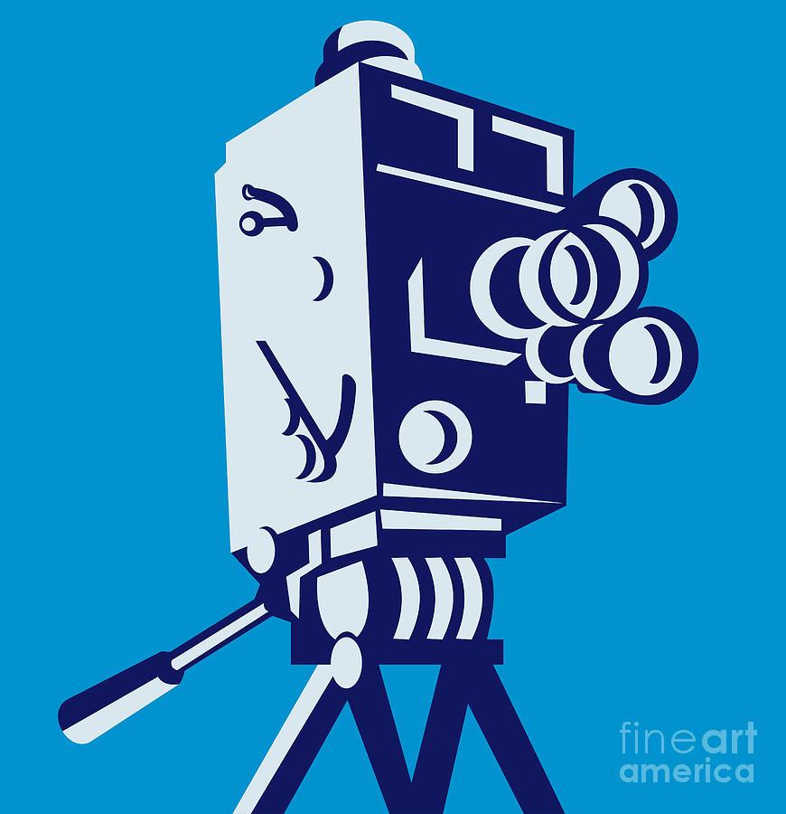 Film clipart vintage film camera. Download movie free