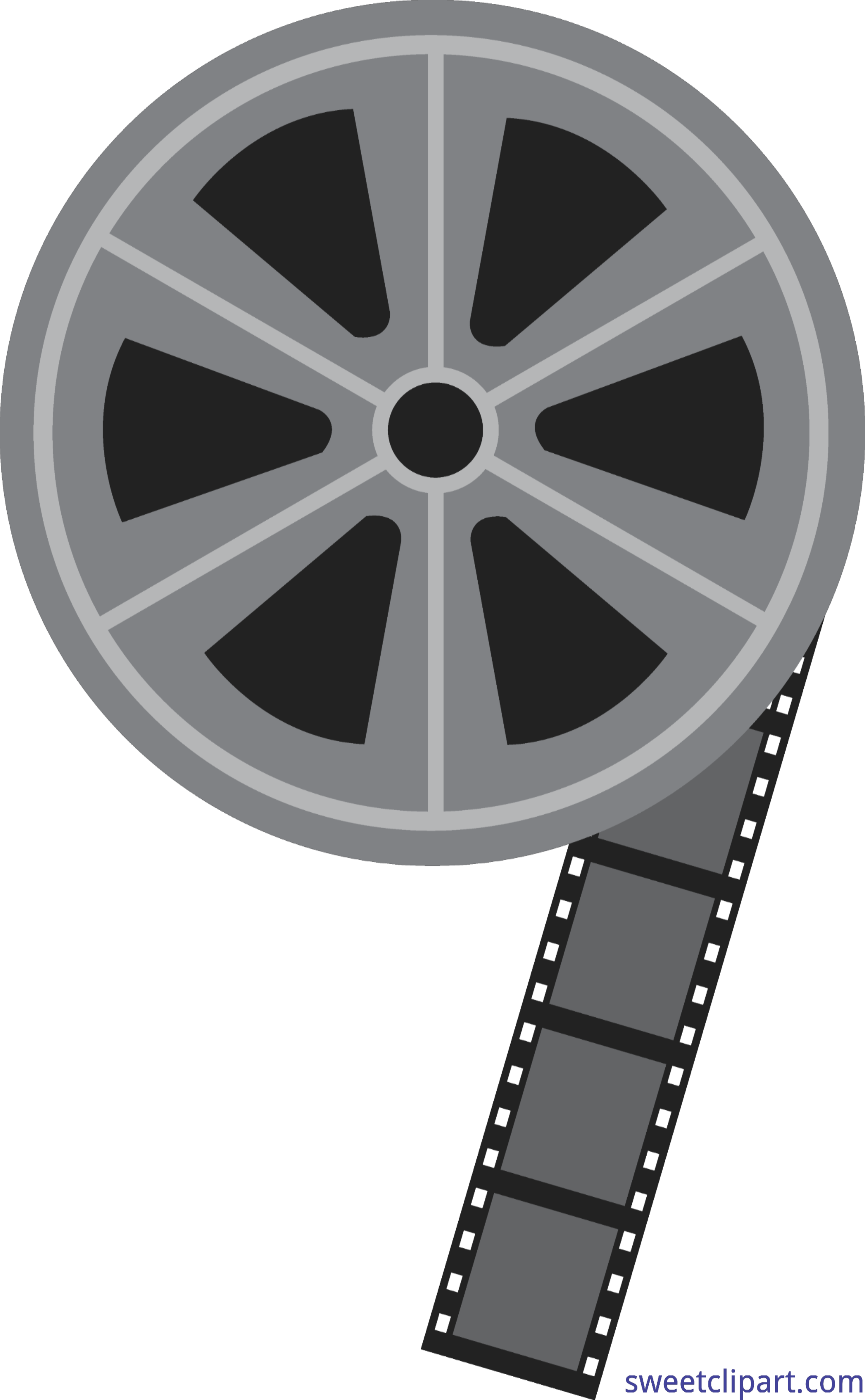Reel clip art sweet. Film clipart wheel