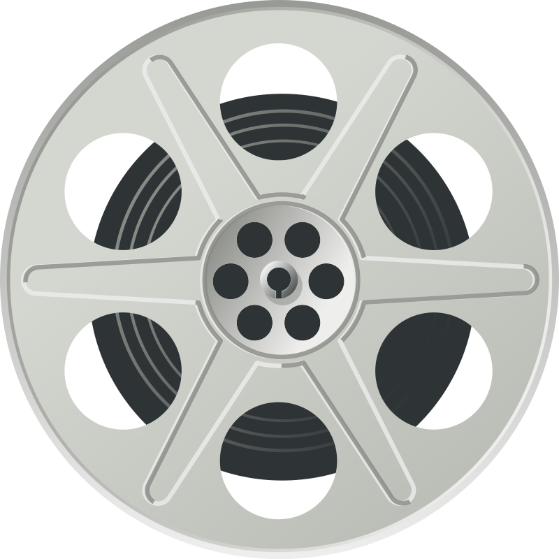 Reel medium image png. Wheel clipart movie