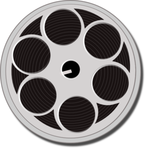 Movie hollywood clip art. Film clipart wheel
