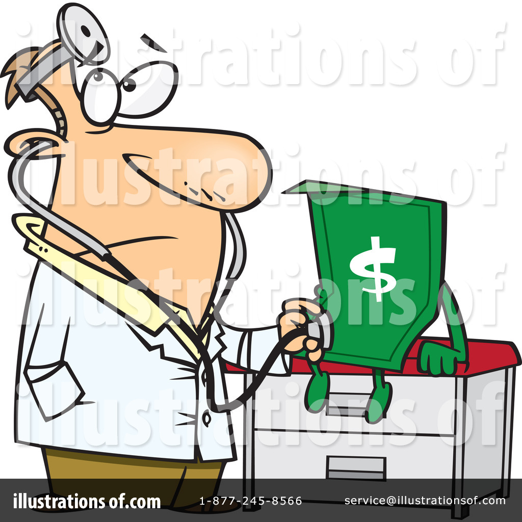 Illustration by toonaday royaltyfree. Finance clipart