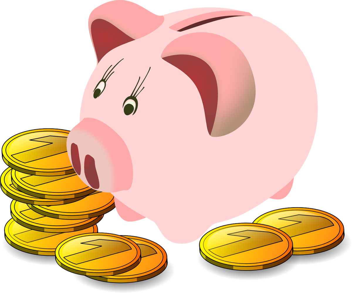 New year me spending. Finance clipart budget