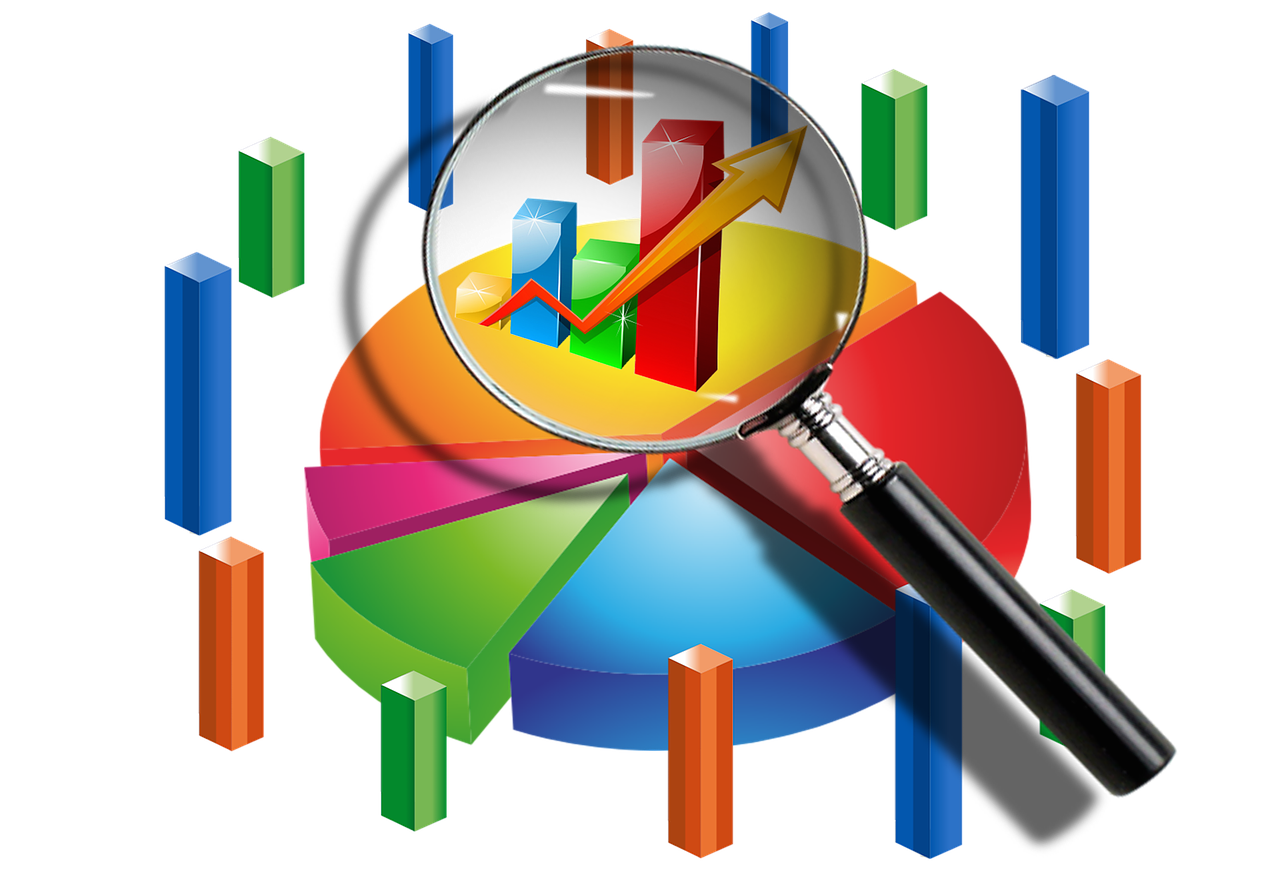 Statistics clipart data analysis interpretation. Excellent difference between vs